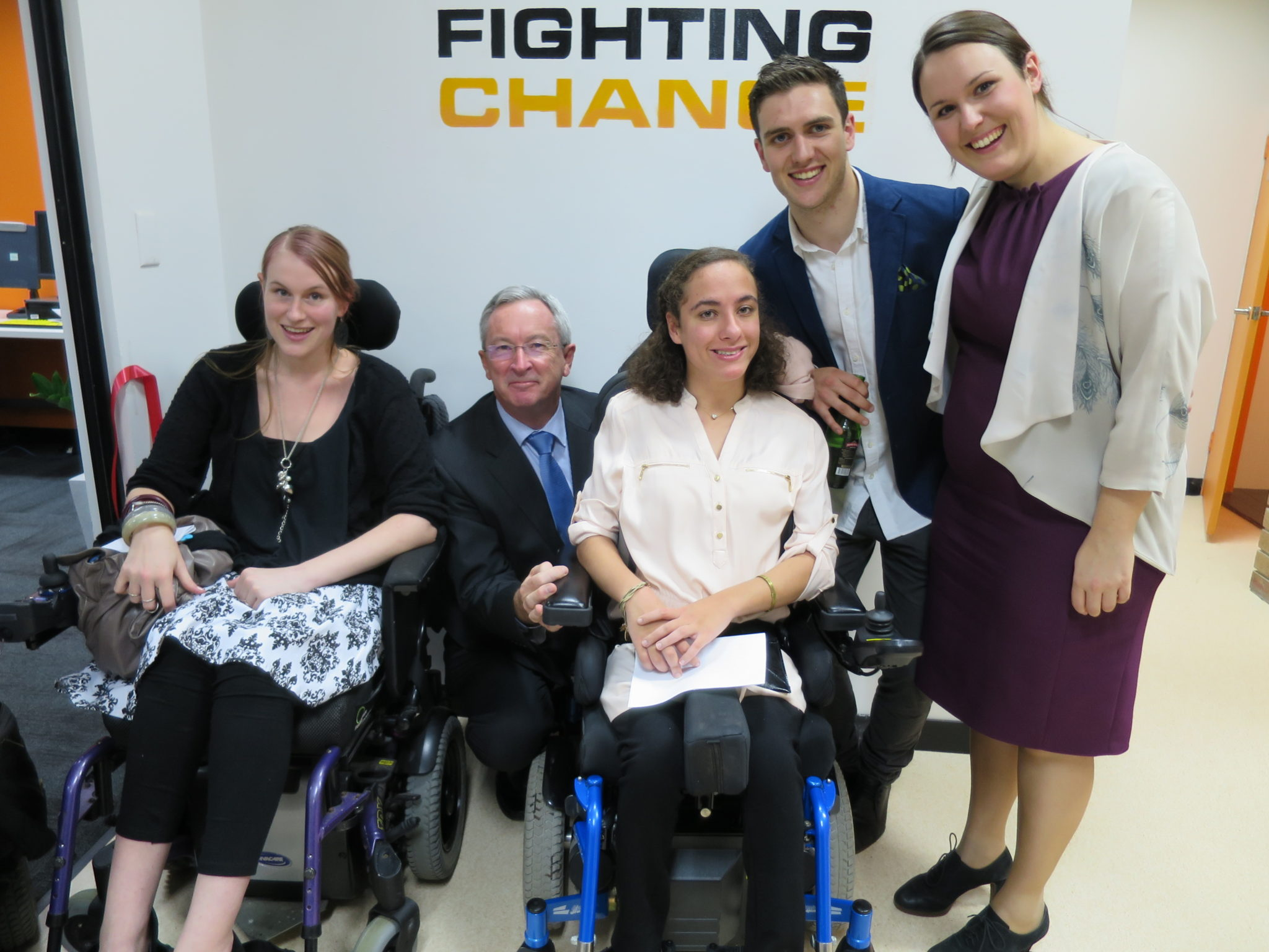 FIGHTING CHANCE – GRAND OPENING OF NEW PREMISES