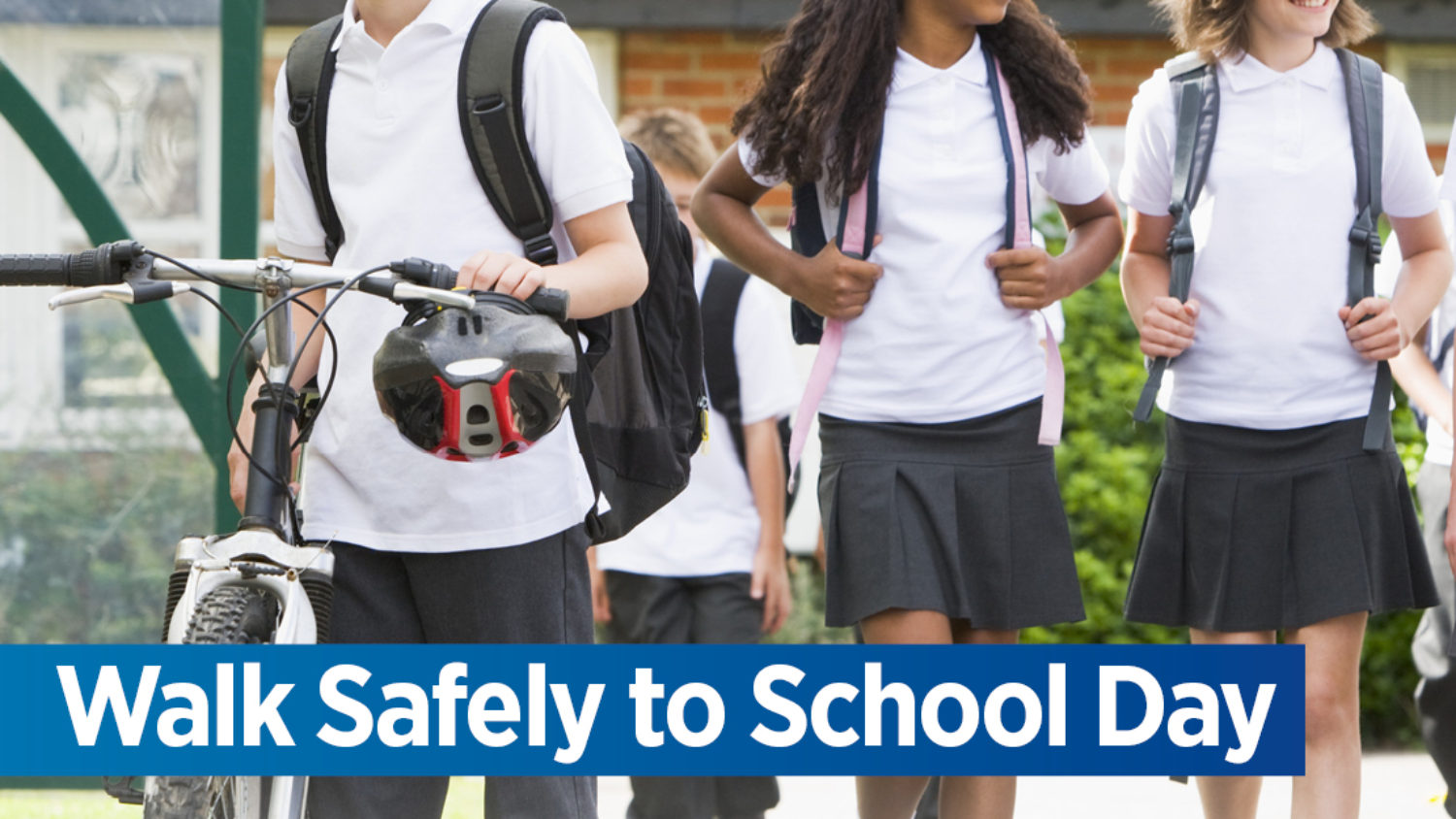 PARENTS AND KIDS ENCOURAGED TO WALK SAFELY TO SCHOOL FRIDAY 19TH MAY 2017