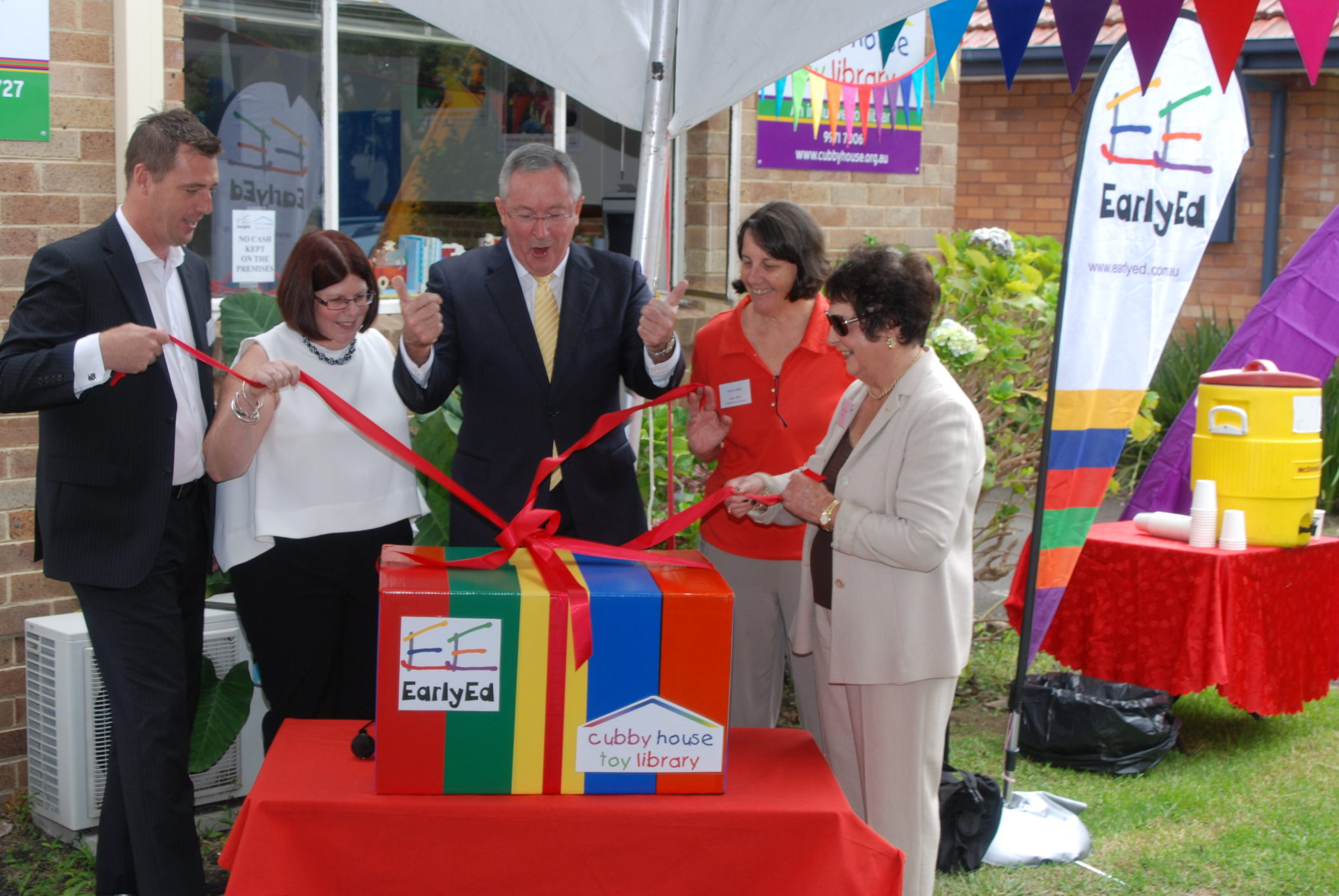 Relaunching of the EarlyEd Cubby House Toy Library