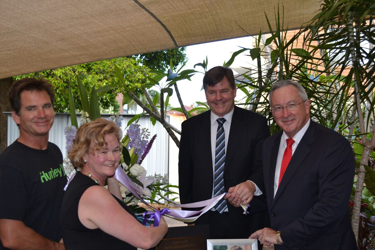 Opening of Barbara Kilpatrick wing of a refuge on the Northern Beaches