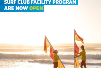 Surf Club Facility Program closes on the 31st August 2017